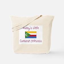Daddy's little Comoran Princess Tote Bag