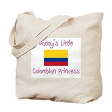 Daddy's little Colombian Princess Tote Bag