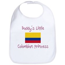 Daddy's little Colombian Princess Bib
