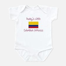 Daddy's little Colombian Princess Infant Bodysuit