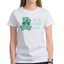 Green Marble Teddy Due December Tee