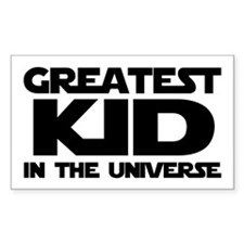 Greatest Kid Rectangle Decal
