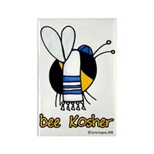 Bee Kosher Rectangle Magnet