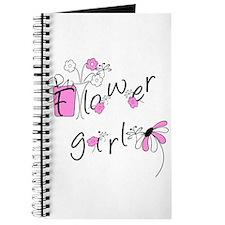Flowers Flower Girl Journal
