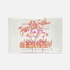 Free Your Soul Rectangle Magnet