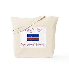 Daddy's little Cape Verdean Princess Tote Bag