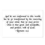 Be Ye Not Conformed Postcards (Package of 8)