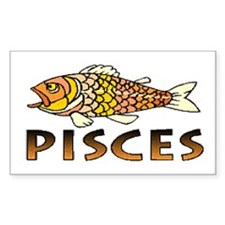 Pisces Rectangle Decal