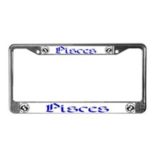 Pisces License Plate Frame