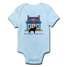 Belgian Shepherd Home Is Infant Bodysuit