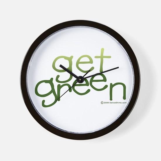 Get Green Wall Clock