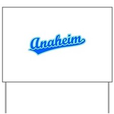 Retro Anaheim (Blue) Yard Sign