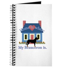 Beauceron Home Is Journal