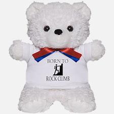 BORN TO ROCK CLIMB Teddy Bear
