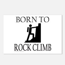BORN TO ROCK CLIMB Postcards (Package of 8)