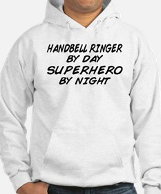 Handbell Superhero by Night Jumper Hoody