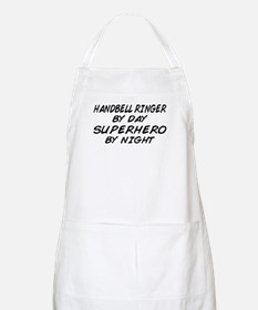 Handbell Superhero by Night BBQ Apron