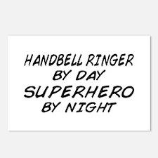 Handbell Superhero by Night Postcards (Package of