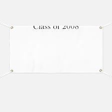 Autograph Banner - Class of 08