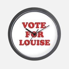 Vote for LOUISE Wall Clock