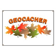 Autumn Geocacher Banner