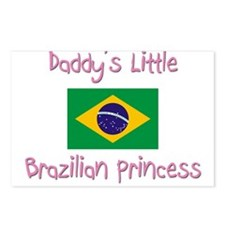 Daddy's little Brazilian Princess Postcards (Packa