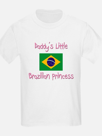 Daddy's little Brazilian Princess T-Shirt