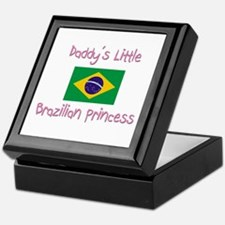 Daddy's little Brazilian Princess Keepsake Box