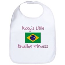 Daddy's little Brazilian Princess Bib