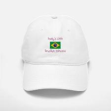 Daddy's little Brazilian Princess Baseball Baseball Cap