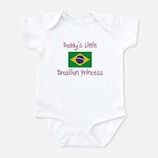 Daddy's little Brazilian Princess Infant Bodysuit
