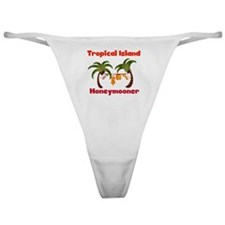 Tropical Island Honeymooner Classic Thong