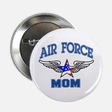 """Air force Mom 2.25"""" Button"""