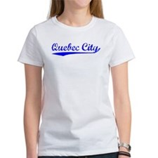 Vintage Quebec City (Blue) Tee