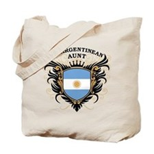 Number One Argentinean Aunt Tote Bag