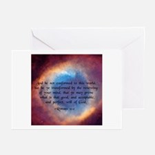 """""""Be ye not conformed"""" Greeting Cards (Pk of 10"""