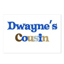 Dwayne's Cousin Postcards (Package of 8)