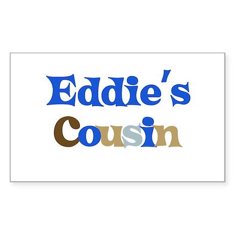 Eddie's Cousin Rectangle Sticker