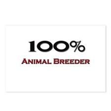 100 Percent Animal Breeder Postcards (Package of 8