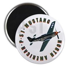 Funny P 51 Magnet