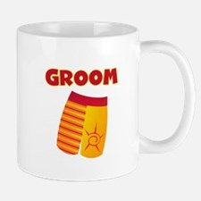 Swim Trunks Groom Mug
