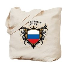 Number One Russian Aunt Tote Bag