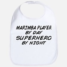 Marimba Superhero by Night Bib