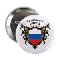 """Number One Russian Uncle 2.25"""" Button"""