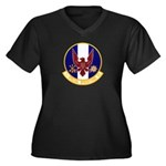 1st Specops Squadron Women's Plus Size V-Neck Dark