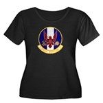 1st Specops Squadron Women's Plus Size Scoop Neck