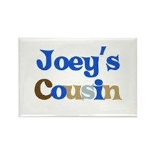 Joey's Cousin Rectangle Magnet