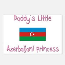 Daddy's little Azerbaijani Princess Postcards (Pac