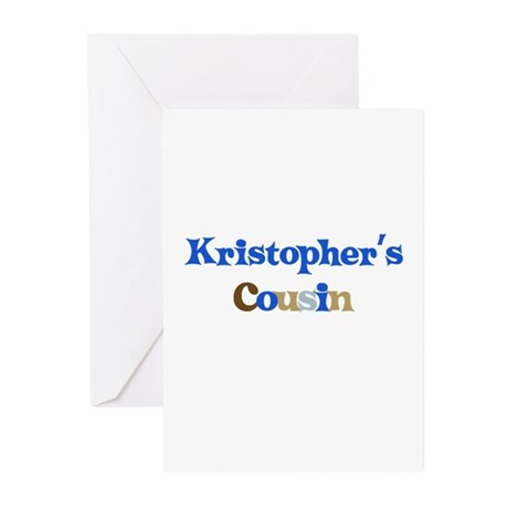 Kristopher's Cousin Greeting Cards (Pk of 10)