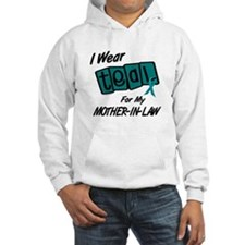 I Wear Teal 8.2 (Mother-In-Law) Hoodie